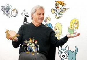 Pepe Carreiro, creador de Os Bolechas, visita Mondariz con motivo do Día das Letras Galegas