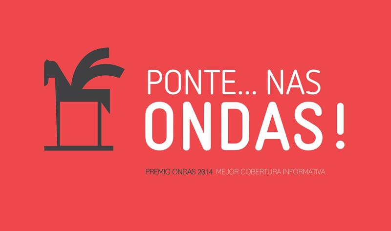 """""""Ponte …nas ondas"""" premio Ondas 2014"""