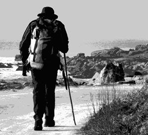 A Guarda e a vila portuguesa de Caminha promoven andainas correspondentes ás etapas do Camiño Portugués da costa