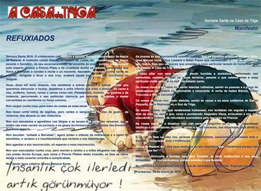NDEA-Manifesto Refuxiados A Casa da Triga