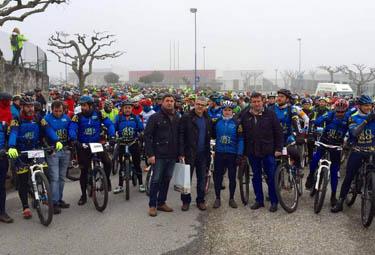 A Eurocidade Tui-Valença congregou neste mes a máis de 1.600 ciclistas