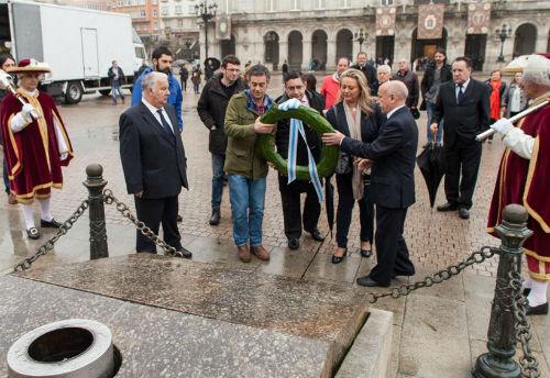 Acto institucional de homenaxe á figura de María Pita e aos e ás defensoras da cidade da Coruña