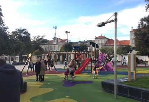 Reapertura do Parque infantil da Alameda