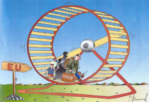 Concurso de caricaturas políticas Ranan Lurie, das Nacións Unidas