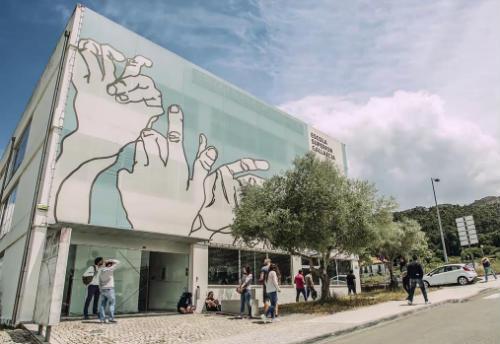 Inauguração das exposições e apresentação de video-mapping dos estudantes da ESG