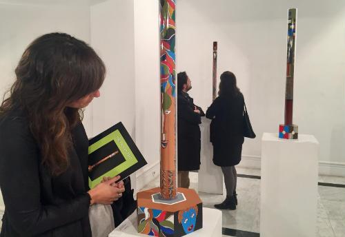 """Exposición """"Kontrakorriente"""" de Pilar Santos"""