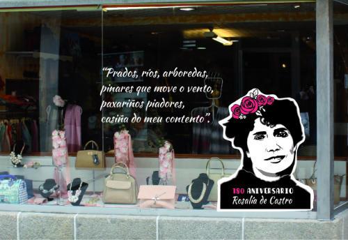 Homenaxe a Rosalía de Castro polo seu 180 aniversario