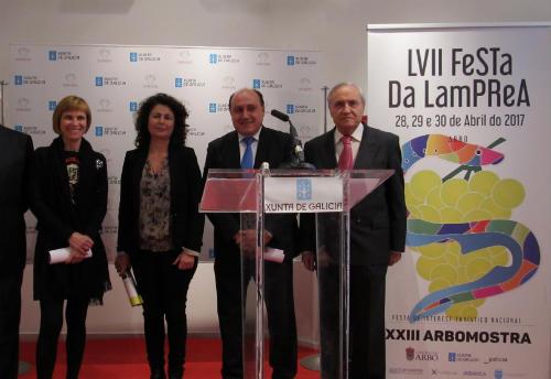 Presentación da LVII Festa da Lamprea de Arbo