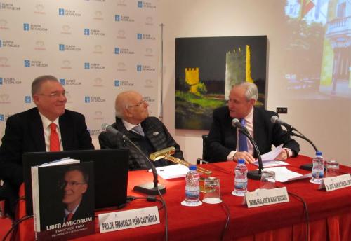 """Presentación do libro """"Liber Amicorum. Homenaxe ao Prof. Dr. Francisco Peña"""""""