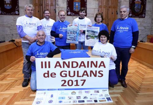III Andaina de Guláns organizada pola Asociación Cultural da parroquia