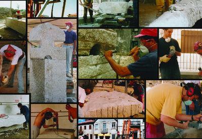 20 anos depois, artistas de simpósio de escultura em granito reencontram-se