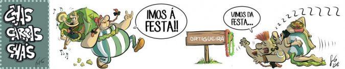 Chas Carras Chás – Vou a festa
