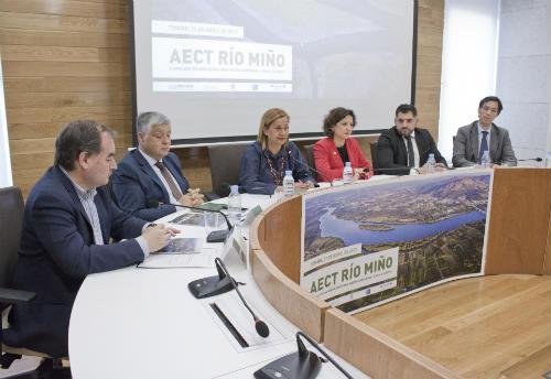 AECT Río Miño Xornada Internacional sobre cooperación transfronteiriza