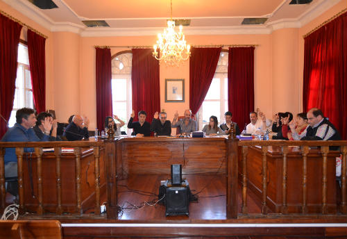 Bueu aproba unha moción conxunta pola preservación do Castro de Montealegre