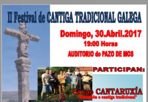 II Festival de Cantiga Tradicional Galega organizado por ASOMAMOS