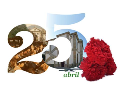 Comemoraçoes do 25 de Abril en Monçao