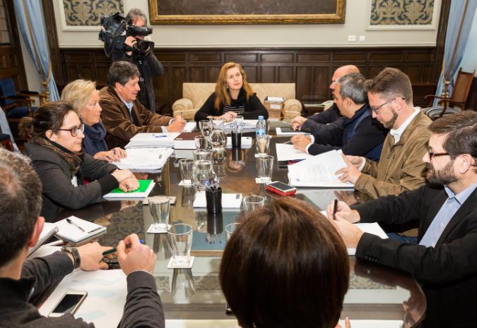 Goberno local da Coruña foi capaz de desbloquear os orzamentos municipais