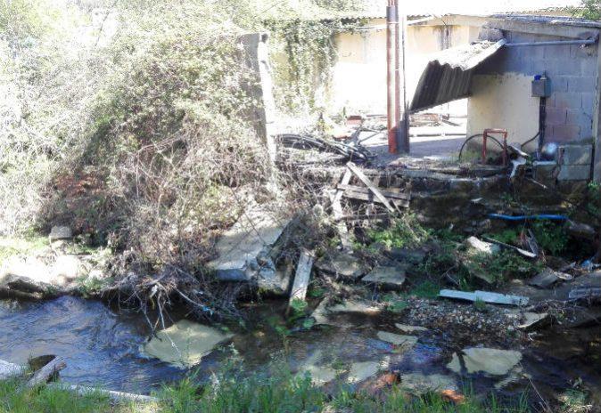 O Bng reclama a  recuperación integral do cauce do Río Louro