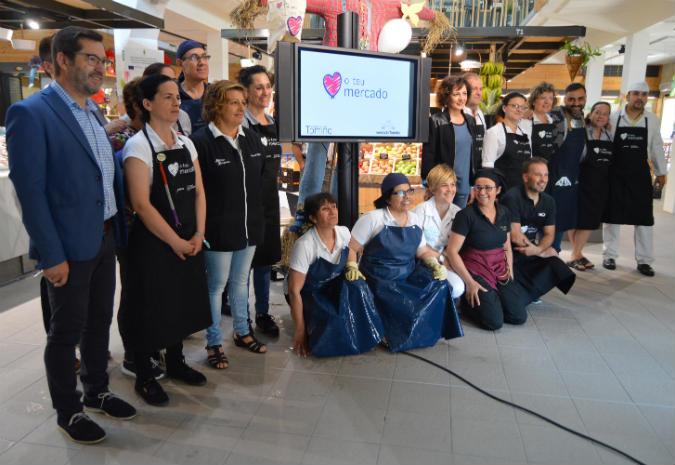 O Mercado de Tomiño irmándase co de Bom Jessus, de Porto, e o celebra cun vídeo de promoción