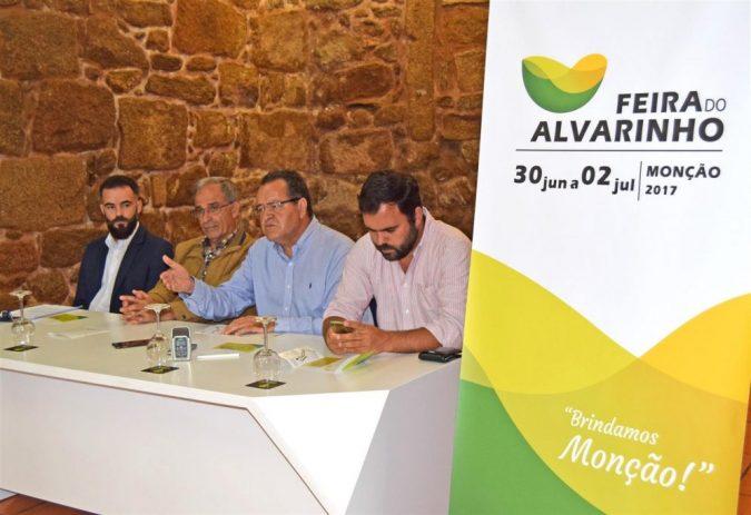 Feira do Alvarinho, três dias de promoção vinicola, animação popular e rentabilização económica