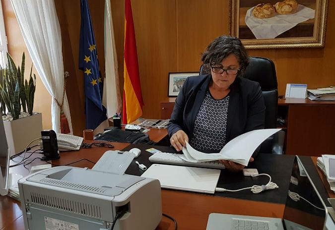 A alcaldesa do Porriño mantivo unha xuntanza co Xefe Territorial da Consellería de Infraestruturas en Pontevedra