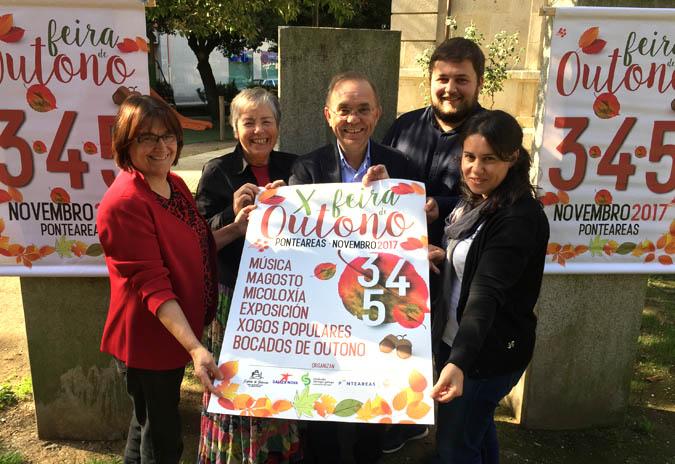 O Concello de Ponteareas presenta a programación da Feira de Outono