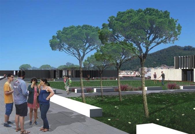 O Novo parque infantil da Praia Norte abre este domingo
