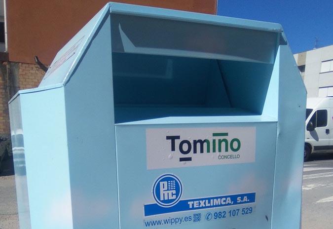 O Concello de Tomiño recolleu 4.000 quilos de roupa usada nos últimos dous meses