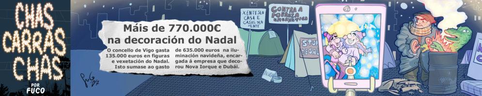 Chas Carras Chás – Alumbrado.