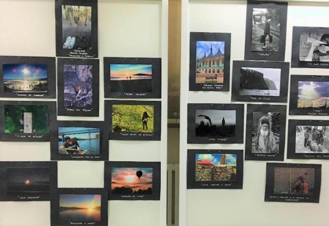 A Guarda acolle a exposición fotográfica do XI certame «Viaxando»