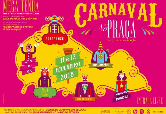 Carnaval na praça