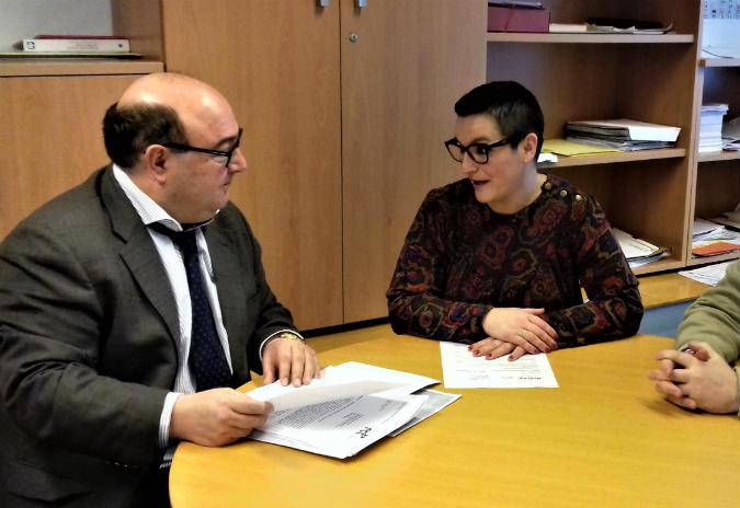 A Guarda e a Xunta acordan as necesidades  de reforma para a mellora dos CEIP do concello