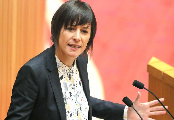 """Ana Pontón no 1º faladoiro do  ciclo """"Galicia 2017-2020: presente e futuros"""""""