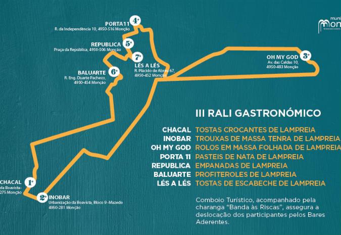III Rali Gastronómico en Monçao
