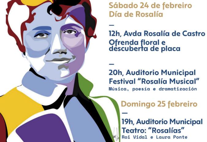Ponteareas homenaxea a Rosalía de Castro