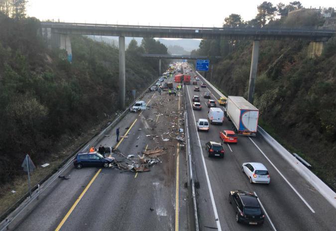 Compromiso por Galicia traslada a indignación ante a situación da autovia Vigo – O Porriño