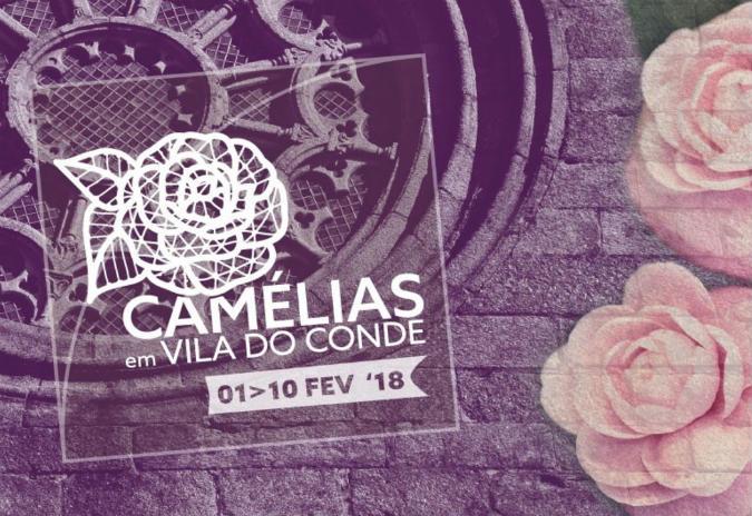 Venha celebrar as camélias em Vila do Conde