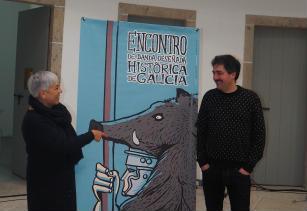 O Arde Lvcvs en cómic, no primeiro encontro de banda deseñada histórica de Galicia