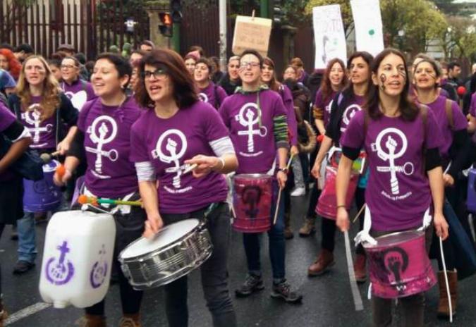En Marea anima as mulleres de Ourense a que secunden a folga feminista do vindeiro 8 de marzo