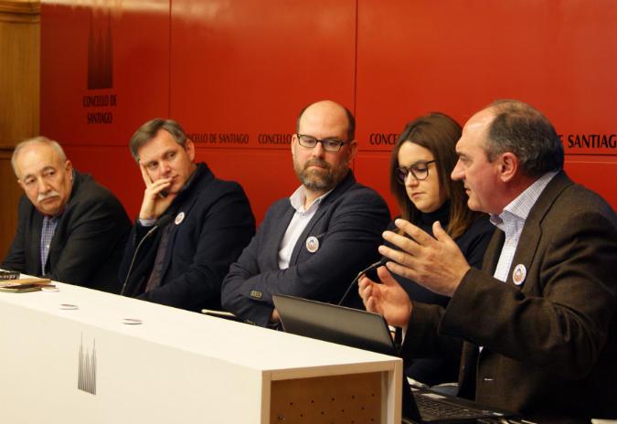 """Santiago de Compostela súmase ao proxecto """"As pegadas de Rosalía"""""""