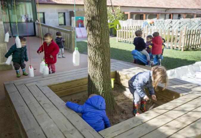 Aberto o prazo de inscrición para as 102 prazas das dúas escolas infantís públicas de Tomiño