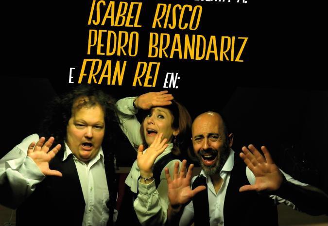 "Isabel Risco, Fran Rei e Pedro Brandariz protagonizan ""Falar sen cancelas"""