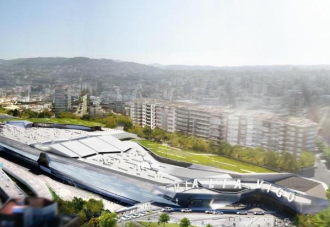 Vigo propón un deseño da terminal de autobuses acorde á estación de Thom Mayne