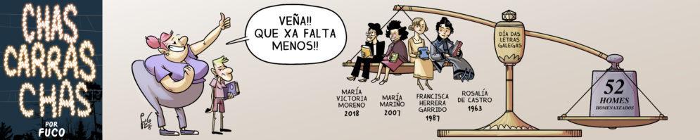 Chás Carrás Chás – Letras Galegas