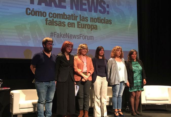 """Ana Miranda:  """"As Fake News combátense con xornalismo de calidade, independente e plural"""""""