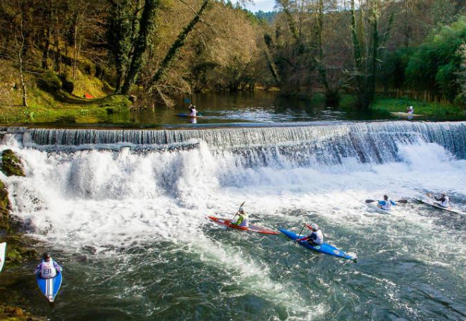 Águas bravas do rio Coura propícias para mais um Campeonato Nacional de Slalom