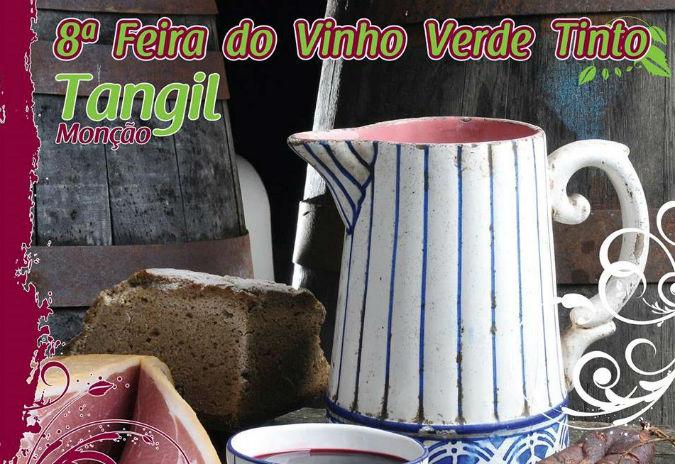 Festa do Vinho verde tinto en Tangil