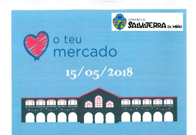 Salvaterra organiza unha xornada de promoción da alimentación saudable no mercado municipal