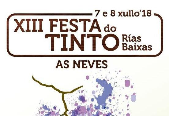 XII Festa do Tinto Rías Baixas en As Neves
