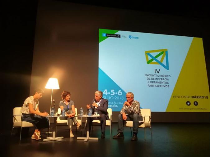 Tomiño e Cerveira relatan con éxito a súa experiencia transfronteiriza no IV Encontro Ibérico de Democracia e Orzamentos Participativos